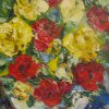 Roses Canvas, oil 20х25 2011