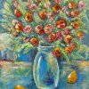 Red roses, yellow pears Canvas, oil 60х80 2011