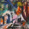 In an old city Hardbord, oil 17,5х20 2007